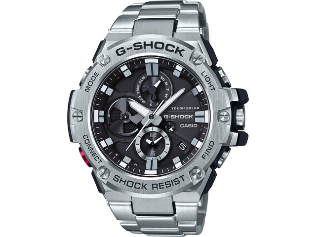 CASIO G-SHOCK GST-B100D-1AER Zegarek Mężczyźni, silver/white silver/white black